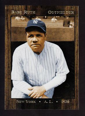 1920 Babe Ruth New York Yankees Limited Edition Monarch Corona Near Mint
