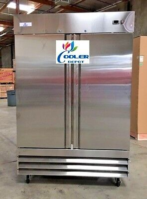New Two Door Freezercommercial Reach In Stainless Steel Freezer Cfd-2ff Nsf