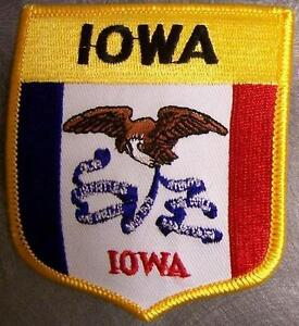 Embroidered-USA-State-Patch-Iowa-NEW-bunting