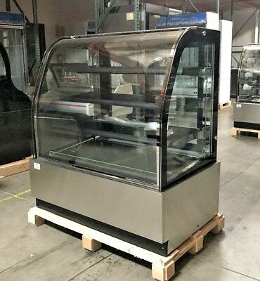 New 48 Bakery Deli Refrigerator Model Cl-4f Cooler Case Display Fridge Nsf