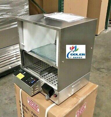 New Commercial Hot Dog Bun Steam Warmer Vending Machine Counter Top Nsf Etl