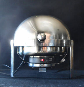 Round Chafing Dish Chafer Lid Stainless Steel Electric in box