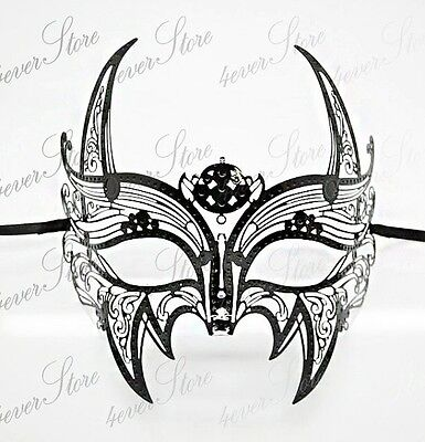 Wolverine Mask (Men Black Wolverine Masquerade Mask - X-Men Mask - Batman Mask)