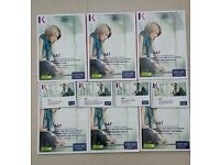 AAT Kaplan Level 3 combined text&workbook and 4 pocket notes 2013-14