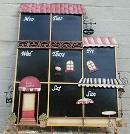 Fun trattoria kitchen magnetic chalkboard