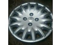 """15"""" Citroën wheel trim (citreon, saxo, c1, c2, c3, hubcap, universal)"""