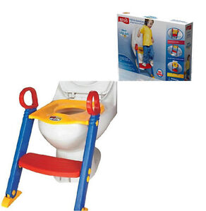 Baby toddler safety Potty Training Ladder toilet