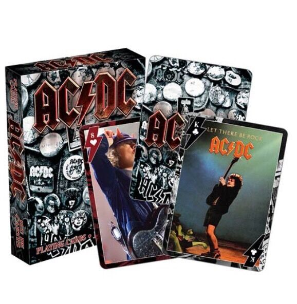 AC/DC Deck Of Playing Cards - Brand New, Free Shipping!