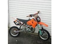 ktm sx 65 2008 motorcross bike crosser 50 85 kx yz rm cr pit quad kids motorbike