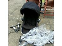 Baby jogger city select doubles seat and adaptor