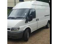 06 reg ford transit long wheel base mot and tax