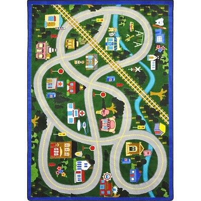 My Community Helpers Area Rug for Children by Joy Carpets Ki