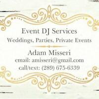 Event DJ Services Durham Weddings Parties Corporate Events
