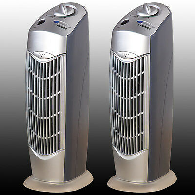 TWO NEW PRO IONIC FRESH BREEZE AIR PURIFIER IONIZER OZONE UV CLEANER ROOM,AP08
