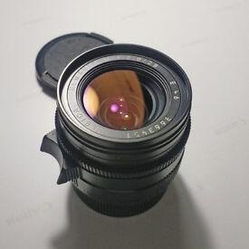 Leica Elmarit 28mm f2.8 Lens Version 4 M mount