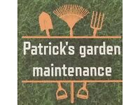 Patrick's Garden Maintenance service