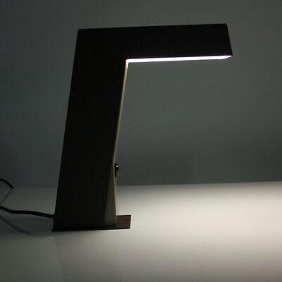 VTG Halogen Tisch Lampe 70er 80er Jahre Metall Architekten Leuchte vintage & alt