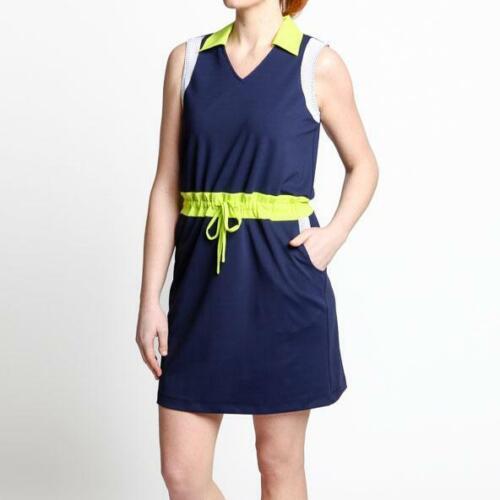 Dagny Scout Drawstring Golf Dress (Small)