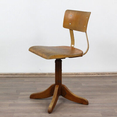 Schreibtisch Dreh Stuhl AMA Elastik 325 Bauhaus Werkstatt Architekten 30er-50er