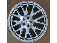 """4 Ford fitment 19"""" TSW Mugello alloys with 3 tyres"""