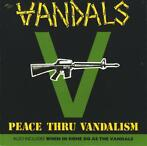 cd - The Vandals - Peace Thru Vandalism / When In Rome Do ..