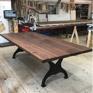 Beautiful Walnut Dining Table AVAILABLE NOW
