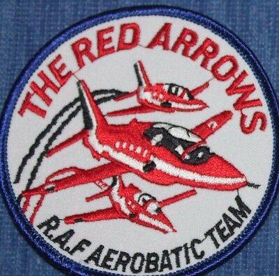 Red Arrows   RAF    Aerobatic aircraft  Team.   patch