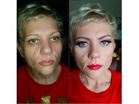 mobile MUA, client visiting MAKE UP ARTIST, Certified Qualified makeup artist CENTRAL
