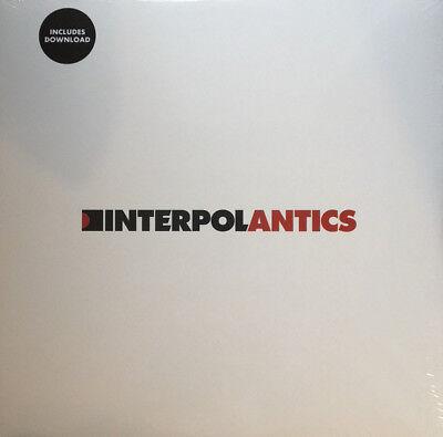 INTERPOL Antics vinyl LP album NEW/SEALED Soft Limit pressing + download