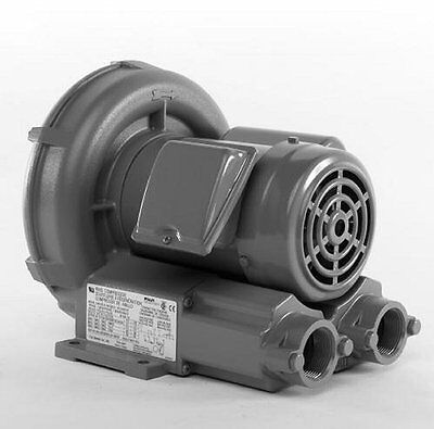 Vfc300p-5t Fuji Regenerative Blower .51 Hp 5.02.5 Amps 115230 Volts