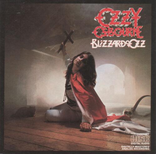 Ozzy Osbourne - Blizzard Of Ozz (original Cd, Dadc 1981, Jet Records Zk 36812 )