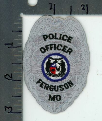 MISSOURI MO FERGUSON POLICE NEW PATCH SHERIFF