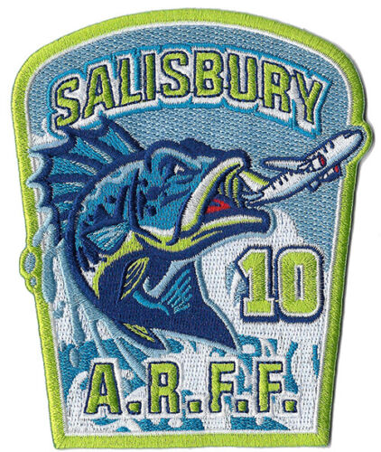 Salisbury Airport Maryland Station 10 Crash Rescue *NEW* Fire Patch