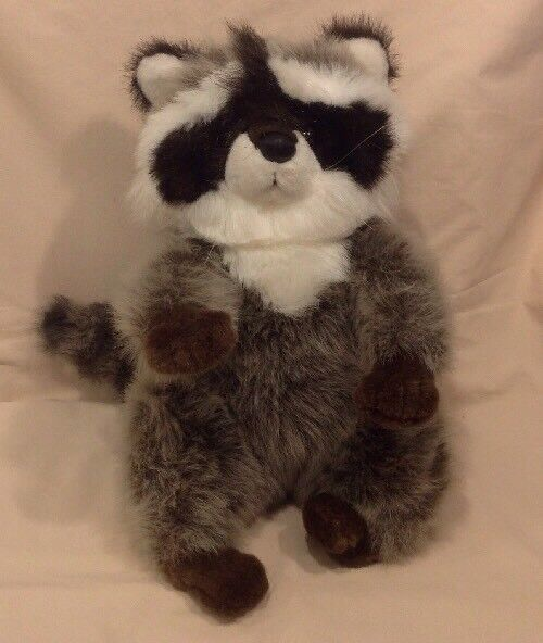 LA-Z-BOY LazyBoy Stuffed Plush Raccoon 1991 Promotional Item