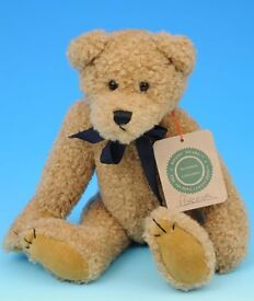 "Collectable Boyds Bear, 11"" Tall, Fully Jointed, Faux Mohair, named ""Perceval"""