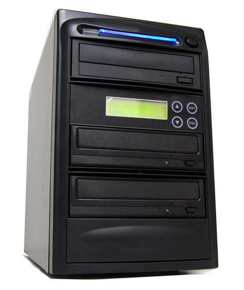 2 Burner 14x Cd Dvd Blu-ray Bd Bdxl Duplicator + 500gb + Usb Copier Replication