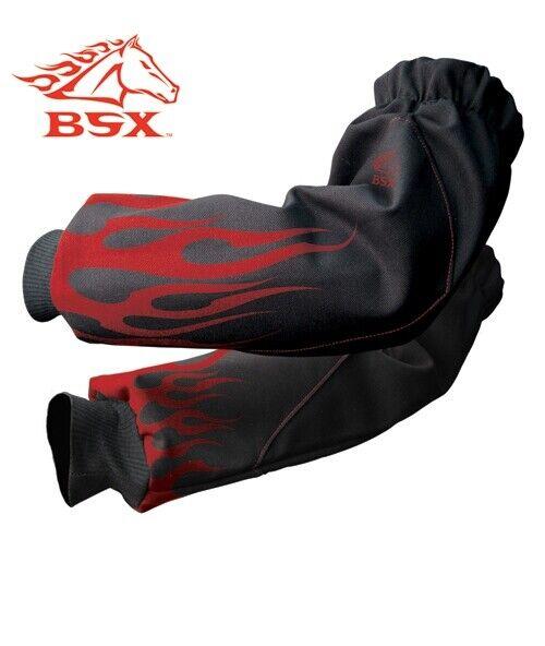 Black Stallion Xtreme BSX Xtenders FR Sleeves BX9-19S-BK