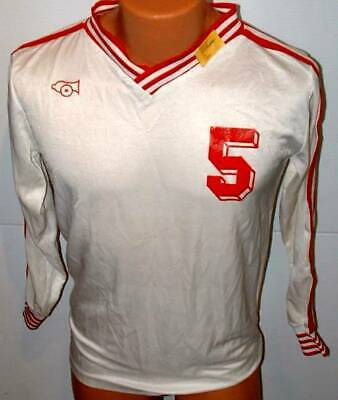 Cannon  Soccer Rugby   Team Gear jersey large white medium # 5