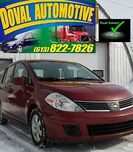2008 Nissan Versa S-Etested, Safetied-$3500 822-7826