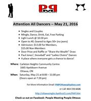 Attention All Dancers - Next Dance May 21