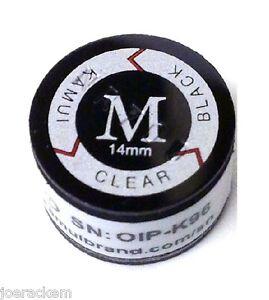 (1) Kamui BLACK CLEAR (MEDIUM = M) Tip  -  FREE US SHIPPING