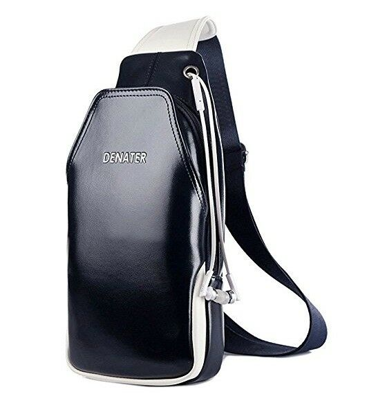 42f4d5e44d72aa Unisex PU Leather Chest Sling Backpack   Shoulder Bag - Mens   Womans    Childrens - Brand New