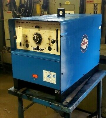 Miller Dialarc Hf-p - Used - Power Source Only