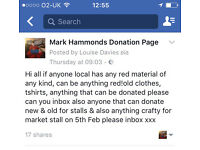 Fundraising For Mark Hammond please read photo & getin touch!