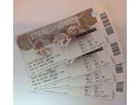 4 Stereophonics Tickets, 9th June Cardiff City Stadium **Seated**