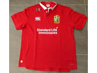 2017 British & Irish Lions XL Canterbury Lions Pro Rugby Jersey