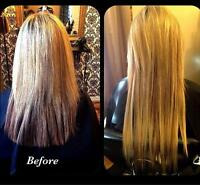 sewn in extensions!
