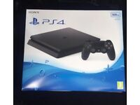 Brand new PS4 with unopened Fifa 17.