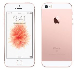 Iphone SE Rose Gold.