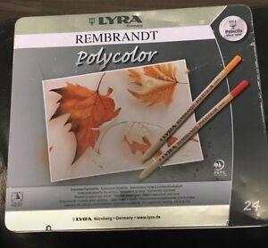 Rembrandt polycolor pencil crayons